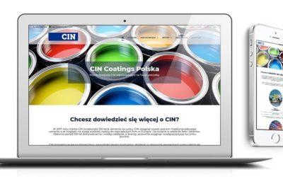 Nowa strona internetowa CIN Coatings Polska!